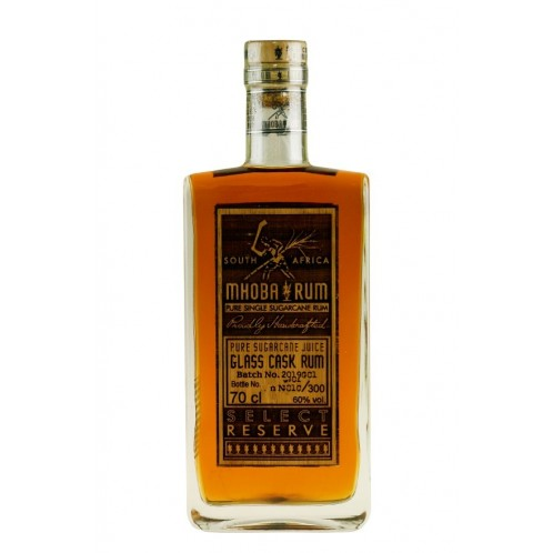 Mhoba Rum Select Reserve Glass Cask